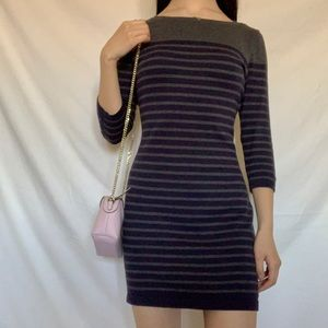 100% cotton striped Banana Republic dress
